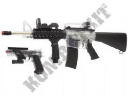 Colt On Duty M4A1 Electric Airsoft Machine Gun and Colt Pistol